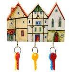 Ключница elf Маленькие домики, 19x12.5 см