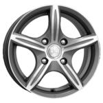 Купить K&K Мирель 6x14/4x100 D67.1 ET25 Алмаз черный