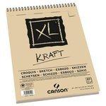 Альбом для набросков Canson XL Kraft 29.7 х 21 см (A4), 90 г/м?, 60 л.