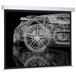 Рулонный матовый белый экран cactus Wallscreen CS-PSW-206x274