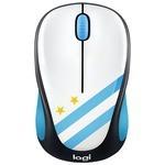 Мышь Logitech M238 Fan Collection Wireless Mice Argentina Black-White USB