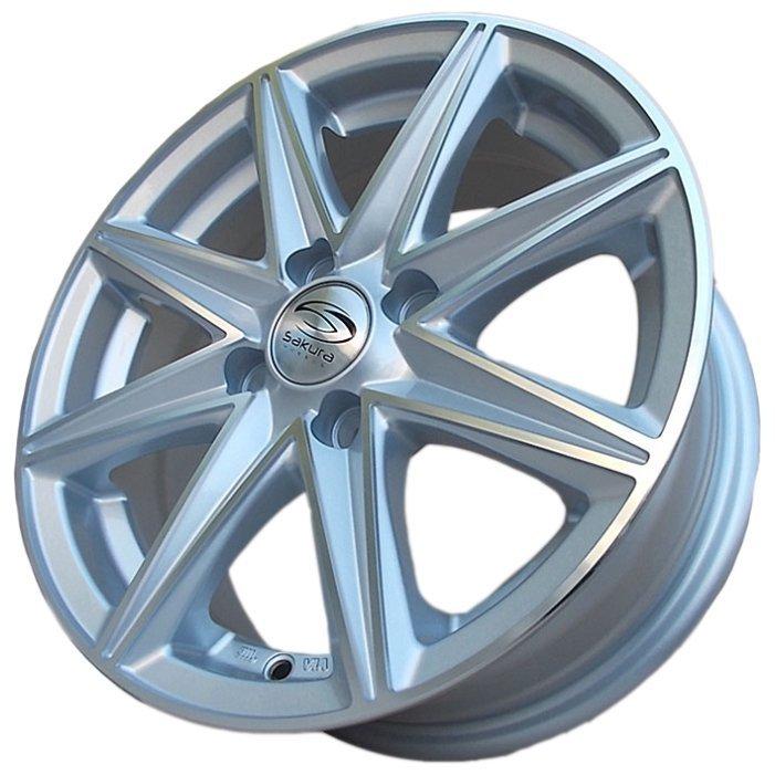 Купить Sakura Wheels 3168 6x14/4x100 D67.1 ET35 Серебристый