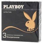Презервативы Playboy Ультратонкие