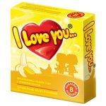Презервативы I Love You C ароматом банана