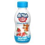 Йогурт питьевой Агуша «Я Сам!» клубника, земляника (с 1 года) 2.2%, 200 г