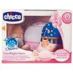 Ночник-проектор Chicco Первые грезы (розовый)