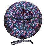 Тюбинг RT Звездопад разноцветный 118 см