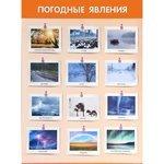Электронный плакат Мозаика-Синтез Погодные явления