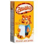 Молоко Авишка отборное для детей (с 3-х лет) 3.2%