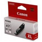 Картридж Canon CLI-451GY XL (6476B001)