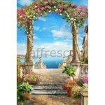Фреска из песка Иглы Арти Affresco Цветочная арка