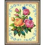 Набор для вышивания Brvsk Букет роз