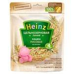 Каша Heinz безмолочная цельнозерновая рисовая (с 4 месяцев) 180 г