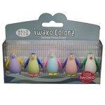 IWAKO Набор ластиков Colorz Penguin