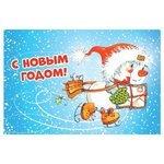 Открытка ND Play Новогодняя №7, 1 шт