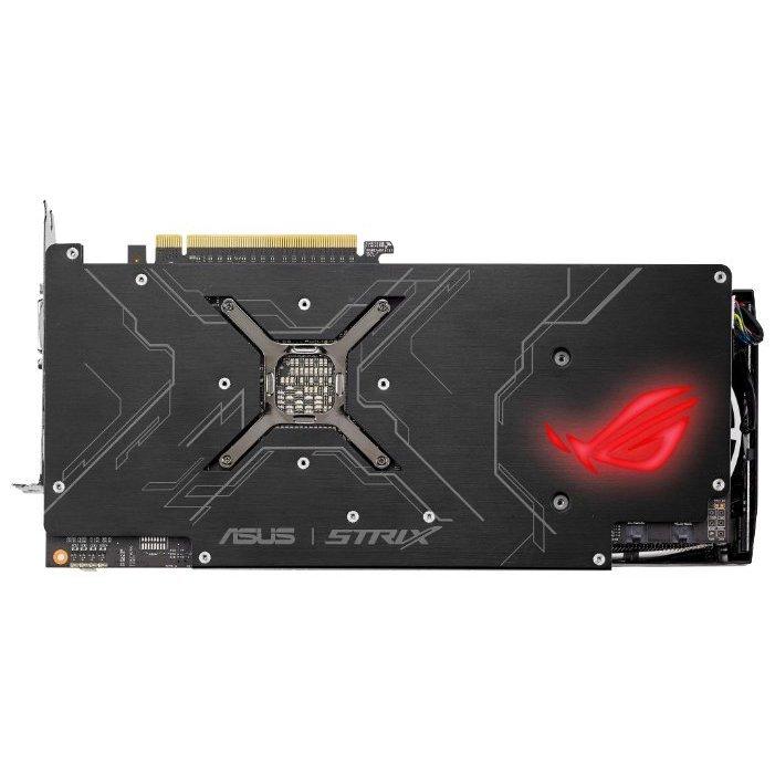 Купить ASUS Radeon RX Vega 56 1297Mhz PCI-E 3.0 8192Mb 1600Mhz 2048 bit DVI 2xHDMI HDCP Strix Gaming OC