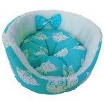 Лежак для кошек, для собак LOORI Бантик Z1910 35х35х14 см