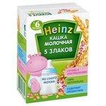 Каша Heinz молочная 5 злаков (с 6 месяцев) 200 мл