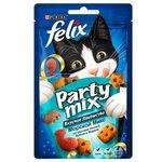 Лакомство для кошек Felix Party Mix Морской микс со вкусом лосося, трески и форели