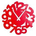 Часы настенные кварцевые Roomton Red 01040