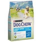 DOG CHOW Puppy Large Breed с индейкой для щенков крупных пород (2.5 кг) 4 шт.