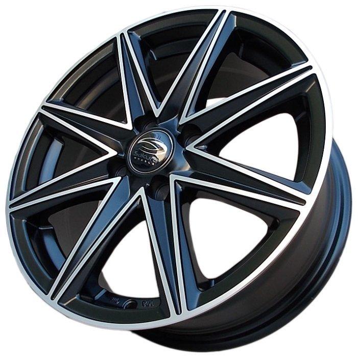 Купить Sakura Wheels 3168 6.5x15/4x100 D67.1 ET38 Черный с полировкой