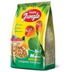 Happy Jungle Корм для средних попугаев Основной рацион