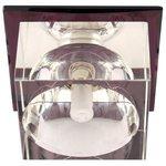 Встраиваемый светильник De Fran FT 9256 l, серебро / сиреневый
