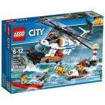 Конструктор LEGO City 60166 Сверхмощный спасательный вертолет