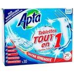 Apta Tout en 1 таблетки для посудомоечной машины