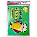 Наклейка Arte Nuevo Винтаж. Craft Beer, объемная