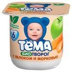 Творог Тема детский яблоко, морковь (с 6-ти месяцев) 4.2%, 100 г