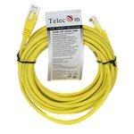 Патч-корд Telecom NA102-Y-1.5M RJ-45 (M) 1.5 м CAT5e