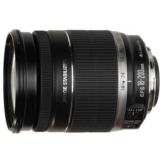 Купить Canon EF-S 18-200mm f/3.5-5.6 IS