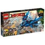Классический конструктор LEGO The Ninjago Movie 70614 Самолет-молния Джея