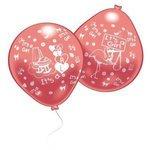 Набор воздушных шаров Everts Рождение малыша (девочки) (10 шт.)