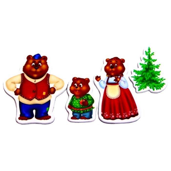 Картинка для сказки три медведя настольного театра
