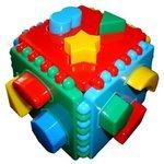 Сортер Бэмби Логический куб со вставными деталями