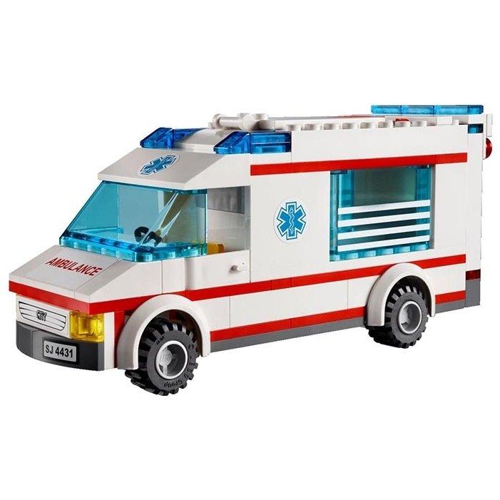 Как из лего сделать скорой помощи