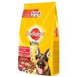 Pedigree Для взрослых собак крупных пород полнорационный корм с говядиной (2.2 кг)