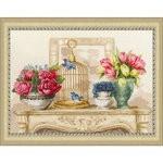 Набор для вышивания Золотое Руно СЖ-050 Весенний шарм