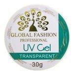 Гель Global Fashion UV Gel однофазный для моделирования, 30 г