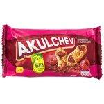 Печенье Akulchev сдобное купелька с малиной, 225 г