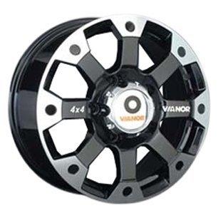 Купить Vianor VR37 8x17/6x139.7 D67.1 ET38 BKF