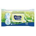 Влажная туалетная бумага Aura Nice с ромашкой Herbal therapy