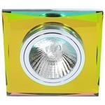 Встраиваемый светильник De Fran FT 848-2 m, цветное стекло