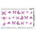 Слайдер дизайн BPW style градиент Бабочки 2 г