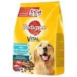 Pedigree Для взрослых собак всех пород полнорационный корм с говядиной (0.6 кг)