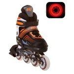 Роликовые коньки RGX Atom с LED подсветкой колес