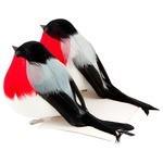 Набор елочных игрушек Русские подарки Птичка (270681)